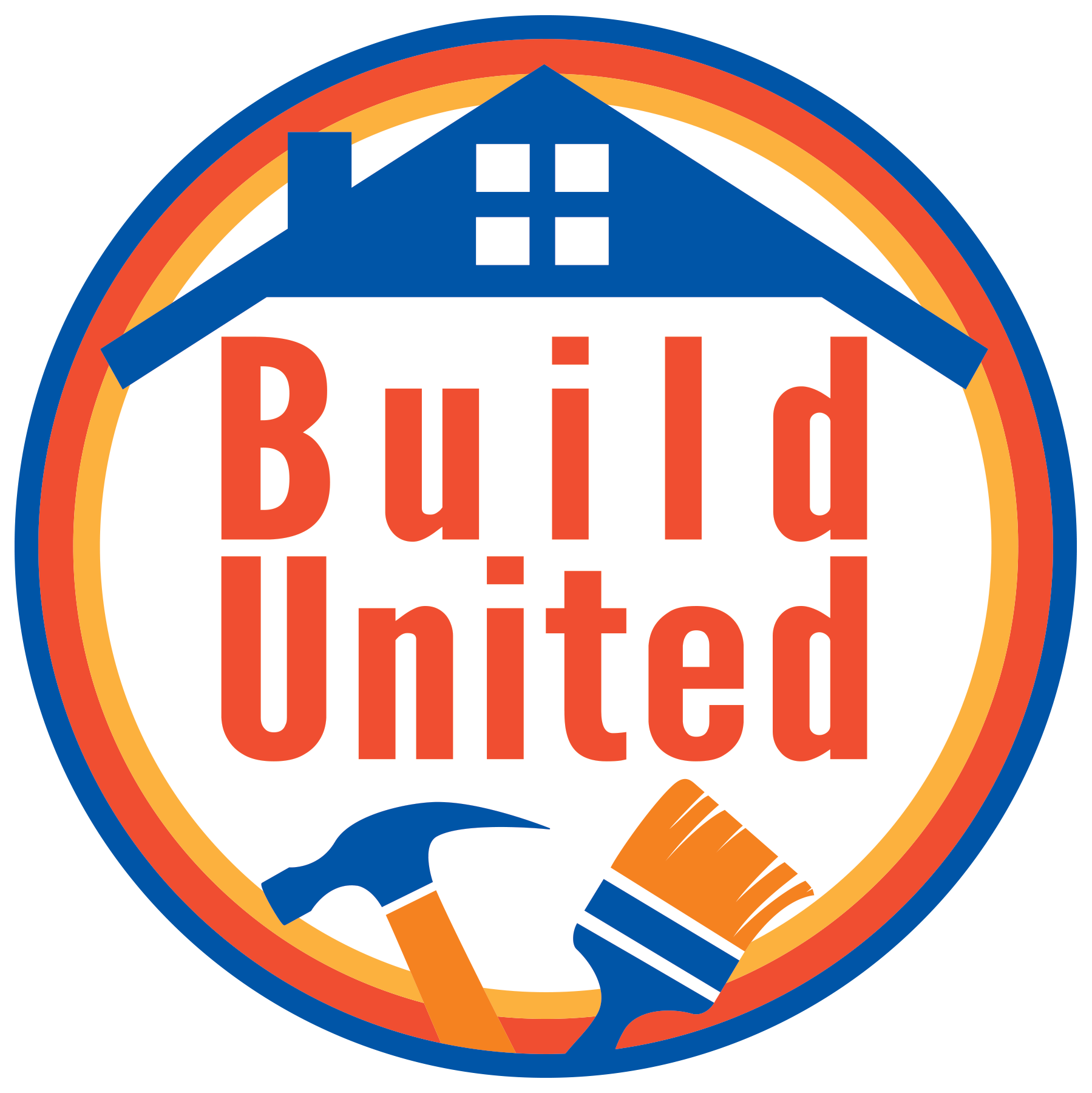 Viral News Website Needs A Playful Logo: United Way Launches Build United